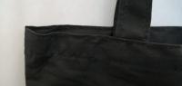 Сумка 40х30х10см плотность 140 гр черная