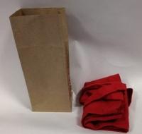 Сумка 42х28см плотность 140 гр красная